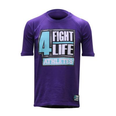 f4l-basic-fight4life-shirt-purple-front